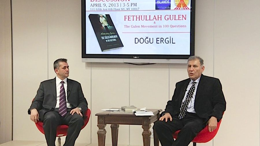 JWF Hosts Author of Gulen Movement Book