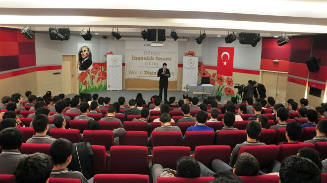 Global Dignity Day Celebrated in Ankara and Istanbul