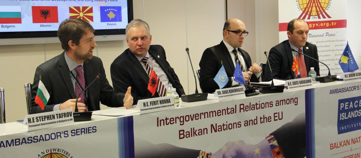 Ambassadors Series Panel #2 Discusses Relations between Balkans and EU