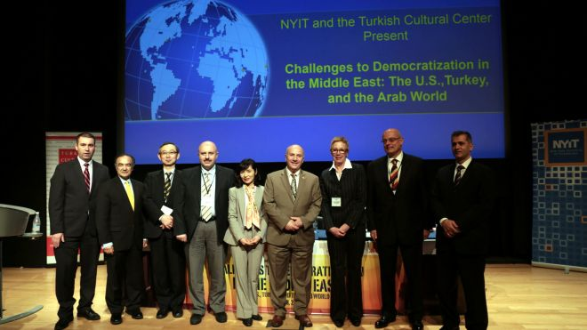 JWF & NYIT Host Conference on Democratization in the Middle East