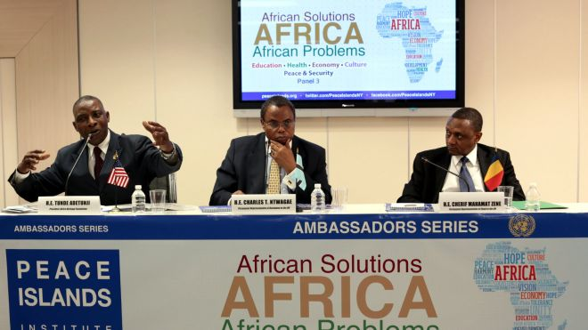 JWF and PIINY Hosted Third Panel on African Solutions to African Problems