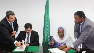 African Union Commission and JWF Sign Memorandum of Understanding