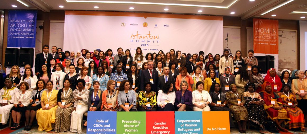 Istanbul Summit Gathers Women to Discuss Humanitarian Action