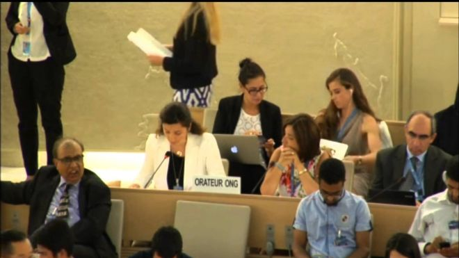 Oral Statement at the 25th Plenary Meeting of the Human Rights Council, 29th Regular Session