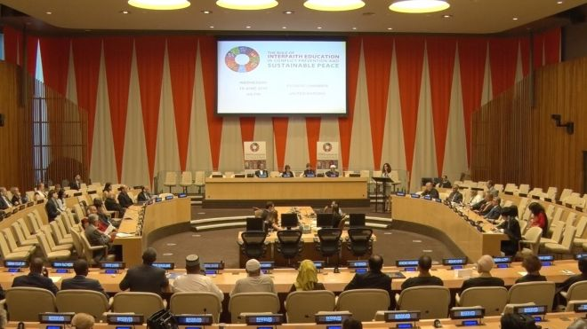 "UN Interfaith Conference: ""The Role of Interfaith Education in Conflict Prevention and Sustainable Peace"""