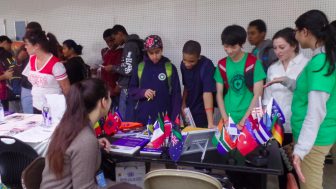 Young Peace Ambassadors Academy was invited to Student Opportunities Fair