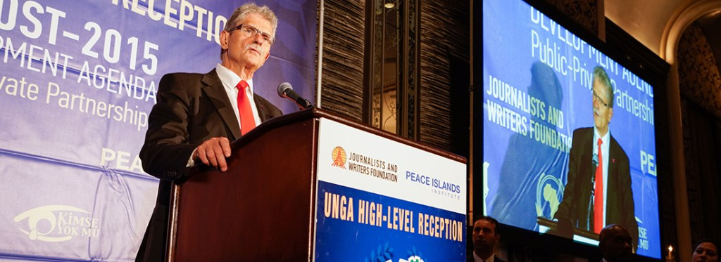 UNGA HIGH-LEVEL RECEPTION 2015- HIGHLIGHTS PUBLIC-PRIVATE PARTNERSHIPS IN EDUCATION