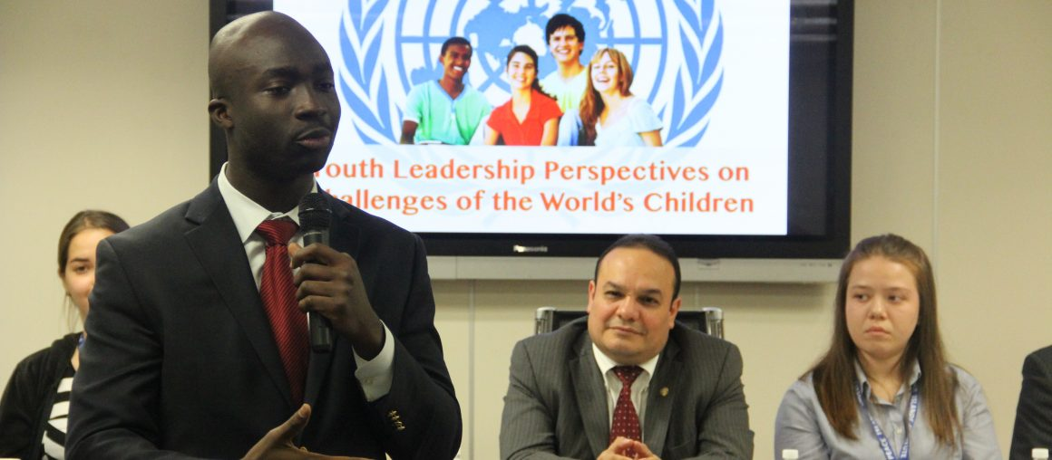 YOUTH VOICES ON GLOBAL GOALS