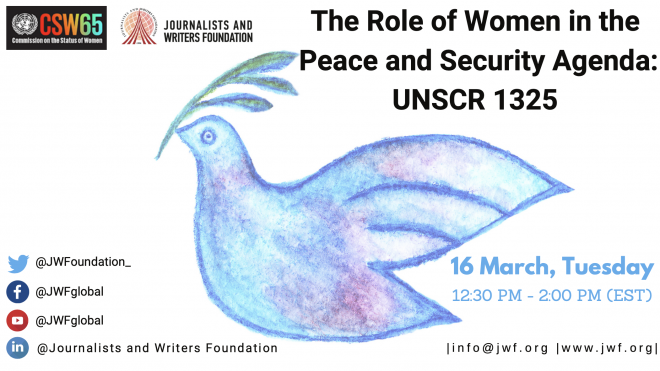 The Role of Women in the Peace and Security Agenda: UNSCR 1325