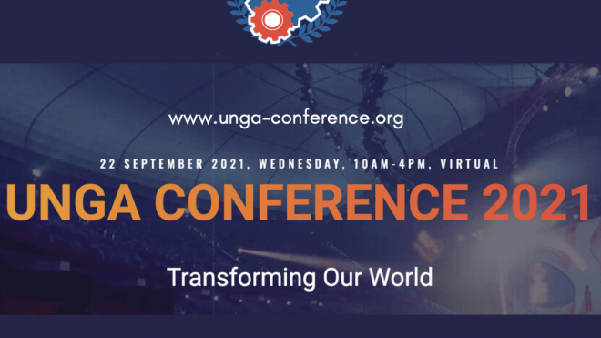 UNGA CONFERENCE 2021: TRANSFORMING OUR WORLD